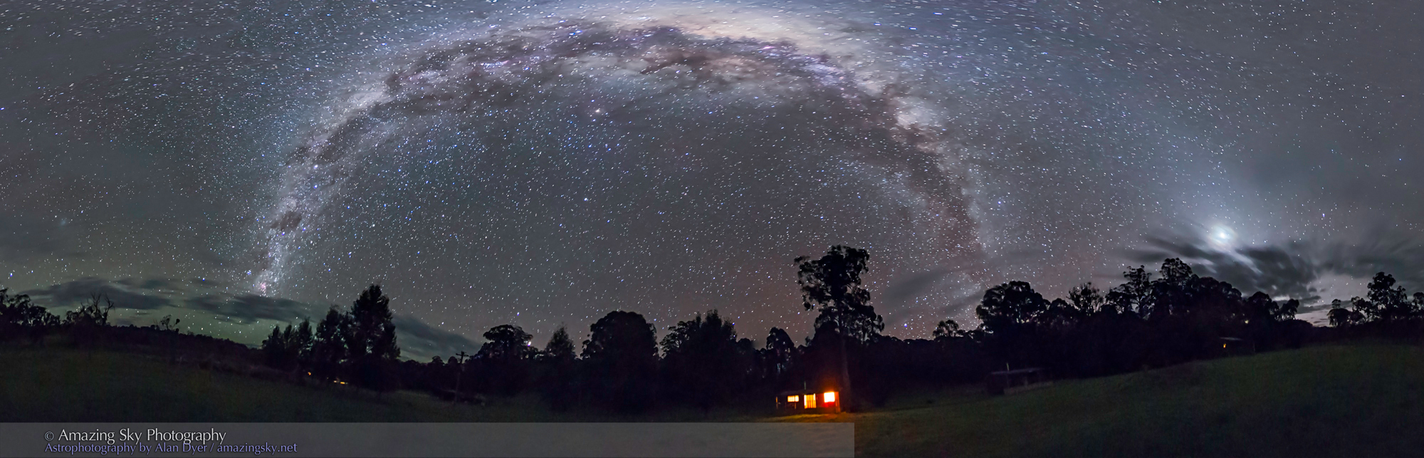 The Galactic Archway Of The Southern Sky The Amazing Sky