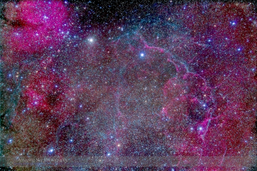 Vela Supernova Remnant (77mm 5DII)