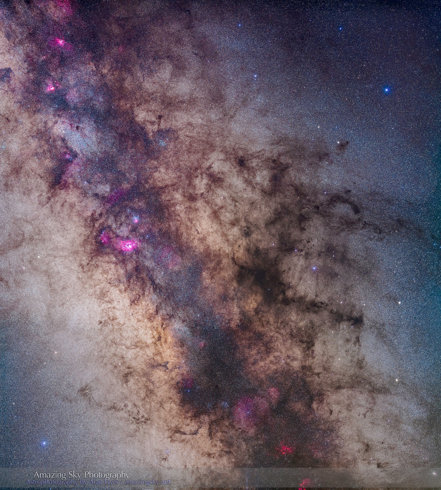Centre of the Galaxy Mosaic