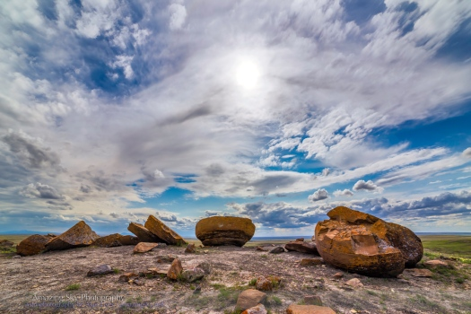 Red Rock Coulee Cloudscape #1