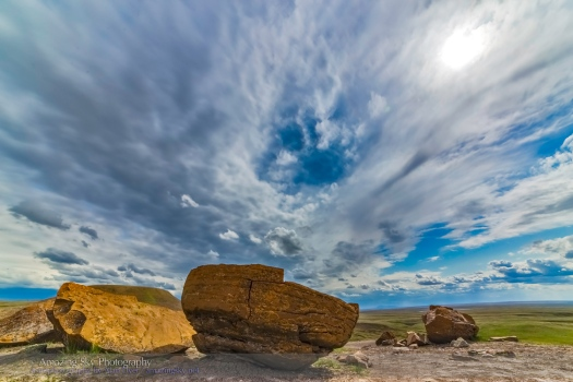Red Rock Coulee Cloudscape #2