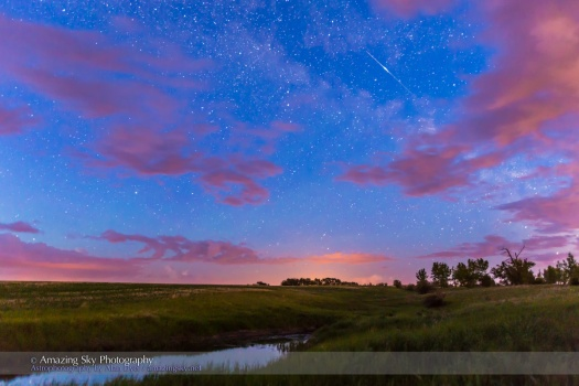 Iridium Satellite Flare (June 20, 2014)