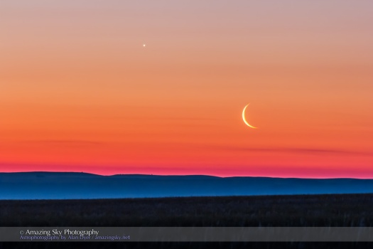 Moon and Venus Rising