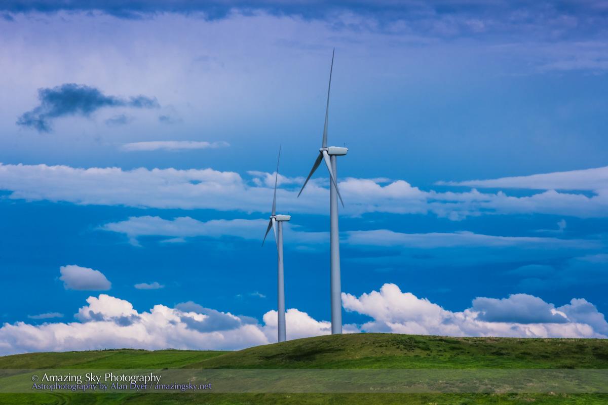 Windfarm Cloudscape