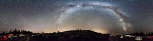 Mt Kobau Milky Way Panorama #1