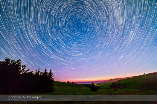 Reesor Ranch Circumpolar Star Trails v2