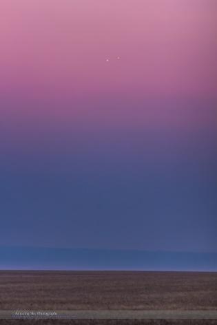 Venus & Jupiter Conjunction Closeup