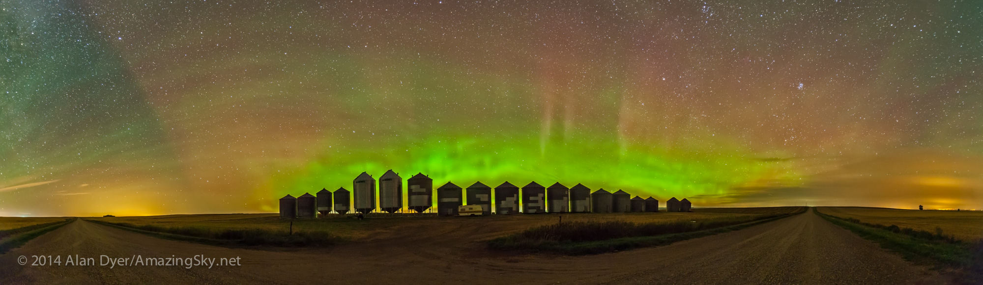 Aurora & Airglow Panorama
