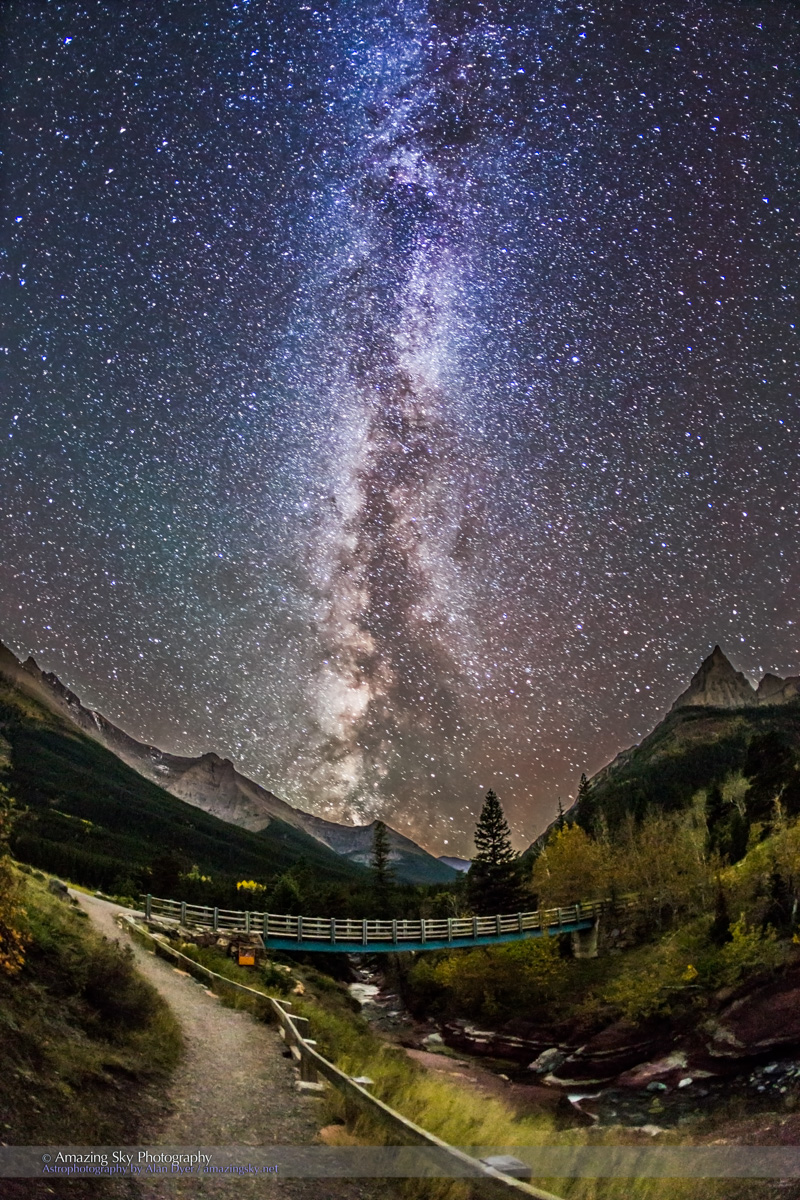 Red Rock Canyon by Starlight
