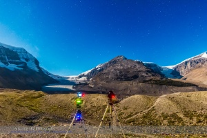 Shooting at the Icefields