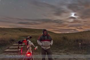 Self-Portrait at Oct 8, 2014 Total Lunar Eclipse