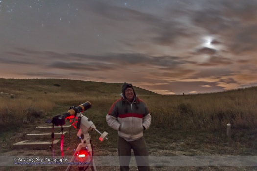 Self-Portrait at Oct 8, 2014 Total Lunar Eclipse