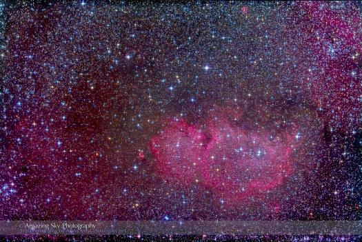 IC 1848, the Soul Nebula, in Cassiopeia