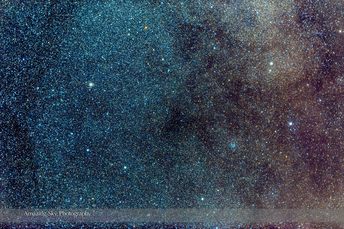M26 Open Cluster and NGC 6712 Globular Cluster