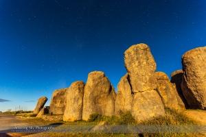 Moonlight on City of Rocks #3