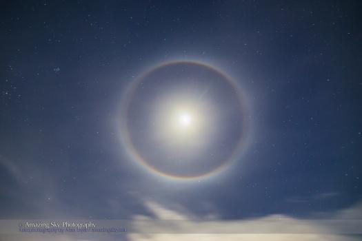 Halo Around the Moon (Dec 1, 2014)