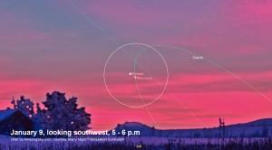 Mercury & Venus Jan 9
