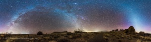 Zodiacal Light Panorama (Rectilinear)