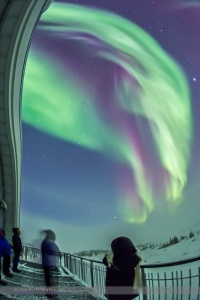 Aurora from the Viewing Deck