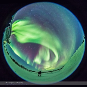 Standing Under the Auroral Oval