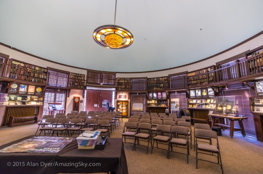 Lowell Observatory - The Old Library Building Interior