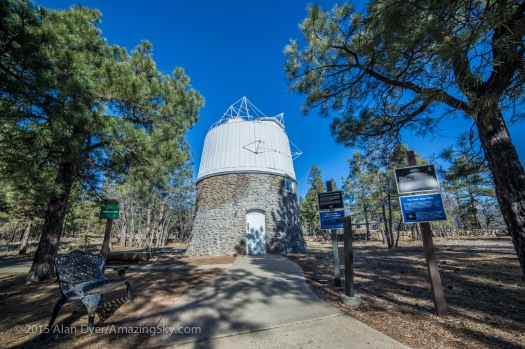 Lowell Observatory - The Pluto Astrograph Building