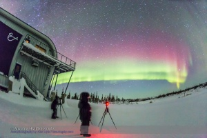 Shooting the Northern Lights (Feb 21, 2015)