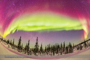Ultrawide Aurora #1 - Feb 21, 2015