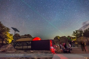 Stargazing at the City of Rocks State Park Observatory