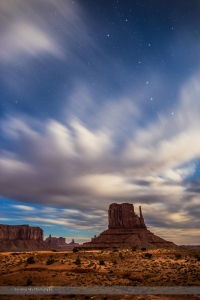 Big Dipper over West Mitten, Monument Valley