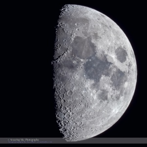 Along the Terminator of the Eight-Day Moon
