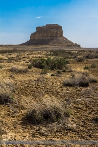 Fajada Butte at Chaco Canyon