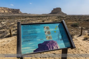 Fajada Butte Sign At Chaco Canyon