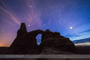 Orion Over Turret Arch