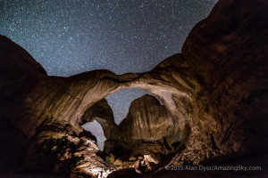 Photographer Lighting Double Arch