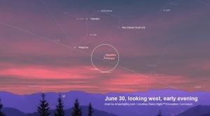 June 30 Jupiter & Venus