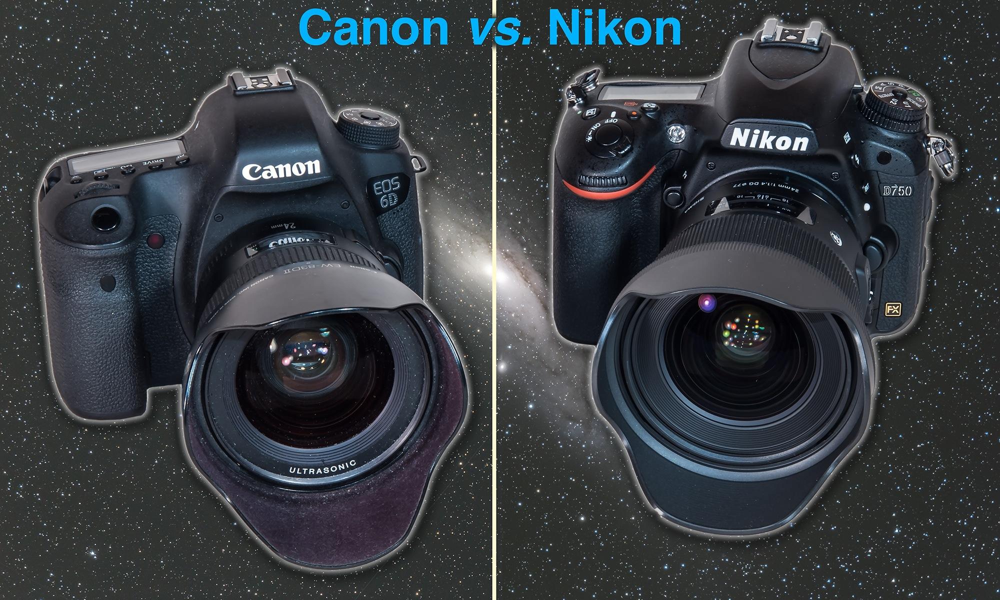 Canon vs  Nikon for Astrophotography – The Amazing Sky