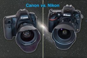 Canon and Nikon Cameras