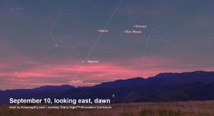 Sept 10 Moon & Venus