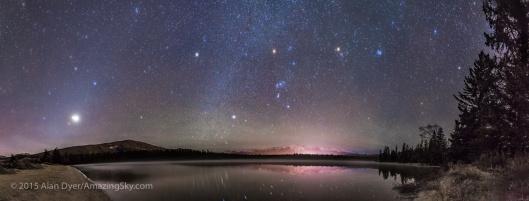 Resultado de imagem para jasper national park night sky