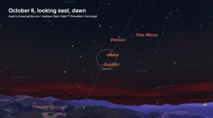 Oct 8 Dawn Planets
