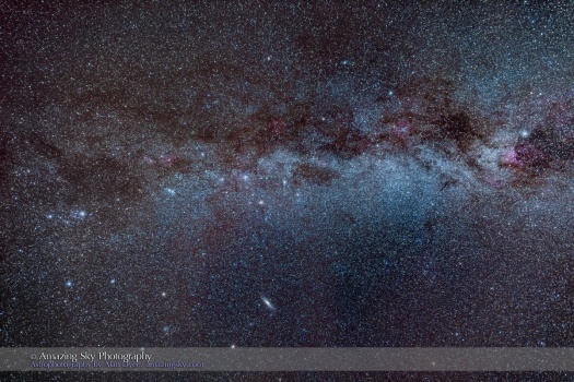 The Autumn Milky Way (Perseus to Cygnus)