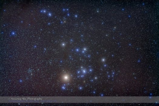 The Hyades Cluster with Aldebaran