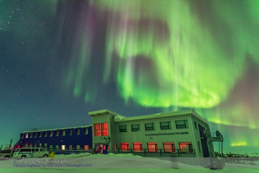 Aurora over CNSC (March 6, 2016)
