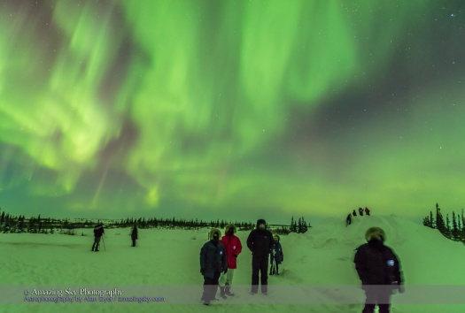 Aurora Watchers at CNSC (March 6, 2016)