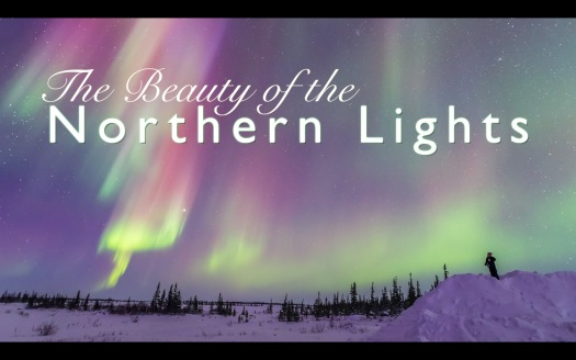 Beauty of Northern Lights Title