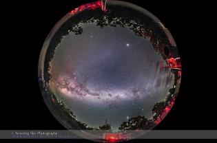 Southern Sky Panorama #2 (Spherical)