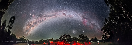 Southern Milky Way Over OzSky Star Party