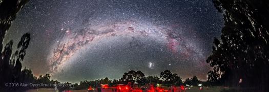 Southern Milky Way Over OzSky Star Party