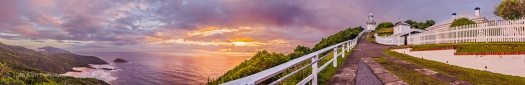 Smoky Cape Lighthouse Sunrise Panorama